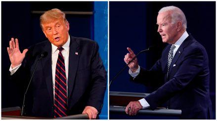 """Biden llama a Trump """"mentiroso"""" en el debate tras ser acusado de """"socialista"""" [VIDEO]"""