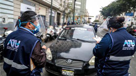 ATU envió al depósito a 25 vehículos que prestaban servicio informal
