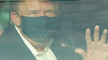 Donald Trump anuncia que dejará el hospital esta tarde