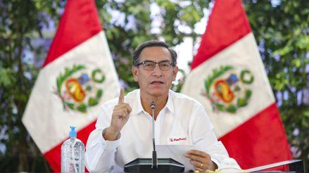 """Martín Vizcarra: """"Estamos avanzando para en el primer trimestre del 2021 contar con la vacuna y aplicarla en orden de prioridad"""""""