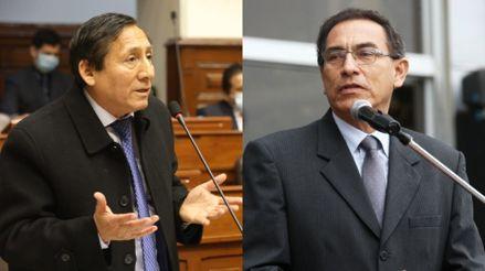 """Presidente de la Comisión 'Club de la Construcción': """"Vizcarra no ha sido coherente en todas sus declaraciones"""""""