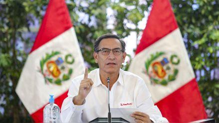 Martín Vizcarra anuncia la apertura gradual de las fronteras terrestres