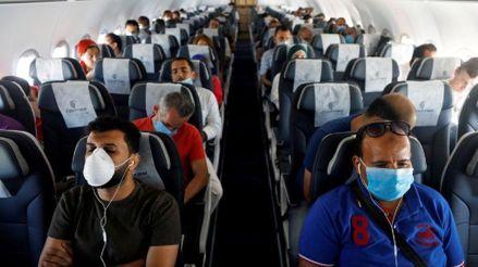 Transporte aéreo: Cerca de 12,000 personas viajaron desde el reinicio de vuelos internacionales