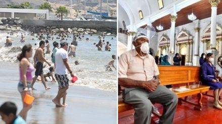 Expertos opinan sobre las restricciones en las playas y la apertura de iglesias