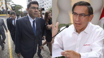 Equipo Especial Lava Jato continuará con investigación a Martín Vizcarra