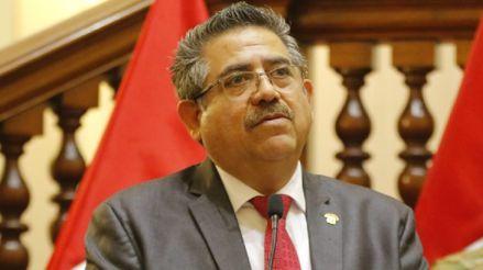 Manuel Merino posterga el debate de admisión de pedido de vacancia presidencial que estaba programado para el sábado
