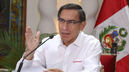Coronavirus | Martín Vizcarra ofrece conferencia de prensa tras presidir sesión del Consejo de Ministros