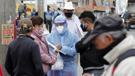Colombia vuelve a superar los 10 000 contagios diarios de COVID-19 después de dos meses