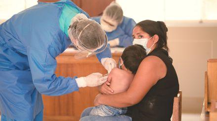 Huánuco: Más de 7 mil menores de cinco años no completan sus vacunas