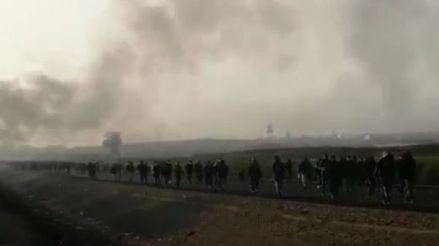 Cronología del segundo día de manifestaciones de trabajadores agroexportadores en Ica