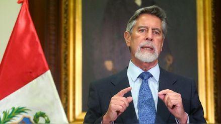 Francisco Sagasti da mensaje a la Nación tras derogatoria de Ley de Promoción Agraria