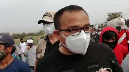 Congresista de Frente Amplio denuncia presencia de infiltrados en manifestación en el puente Chao en Virú