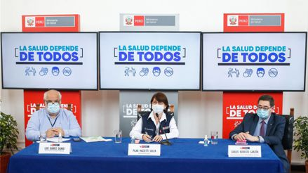 Así informó el Minsa sobre el primer caso de la nueva variante de coronavirus en el Perú [Audiogalería]