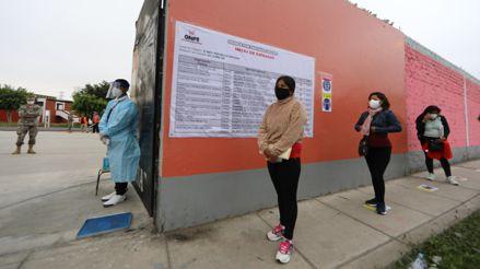 ONPE descarta postergar elecciones pese a aumento de contagios por COVID-19