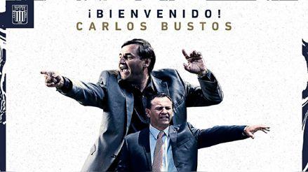 Alianza Lima anunció al argentino Carlos Bustos como su nuevo entrenador