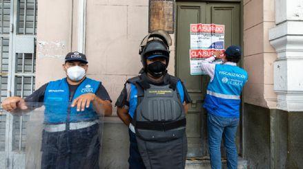 Cercado de Lima: Clausuran cinco hostales que funcionaban en condiciones insalubres