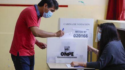 Estos son los protocolos sanitarios de la ONPE para las elecciones generales