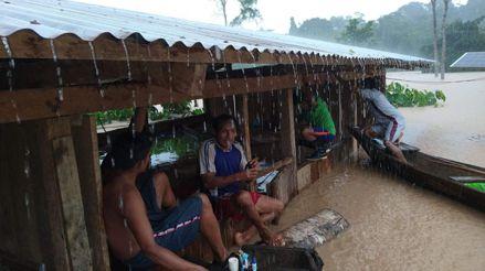 Loreto: Decenas de viviendas y un centro de salud quedaron bajo el agua tras desborde del río Yarapaga [VIDEO]