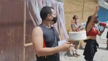 Lambayeque: Un hueco en la pista cumple cuatro años sin arreglo y vecinos le