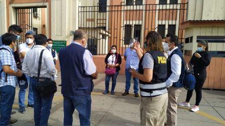 Fiscalía interviene sedes de INS, Digemid, San Marcos y Cayetano Heredia por caso 'Vacunagate'
