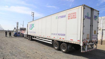 Áncash: Intervienen camión frigorífico en el que trasladaban a 20 personas de Chimbote a Lima[VIDEO]