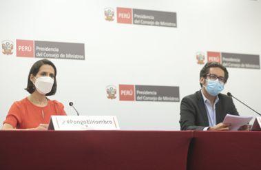 EN VIVO | Ministros brindan balance de las acciones del Ejecutivo frente a la pandemia
