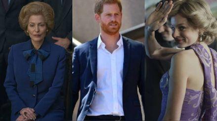 Agradecidas: Así respondieron Emma Corrin y Gillian Anderson a las palabras del príncipe Harry sobre