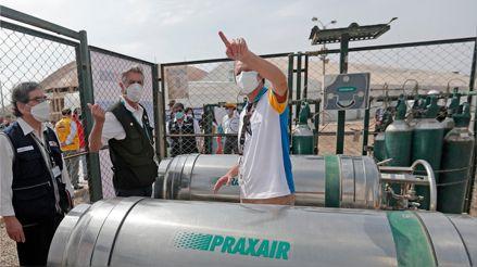 Proyecto Legado: Perú recibiría 960 toneladas de oxígeno medicinal en las próximas semanas