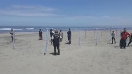 Lambayeque: Instalarán dos mil cuadrantes para controlar presencia de bañistas en la playa de Pimentel [VIDEO]