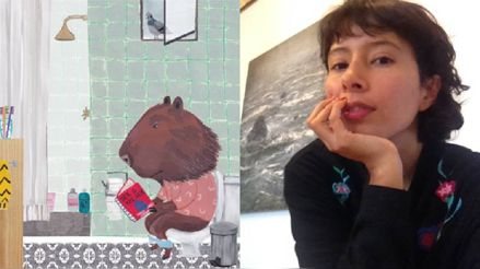 Andrea Gago: Peruana participará en la exposición de ilustradores en la Feria del Libro Infantil de Bolonia