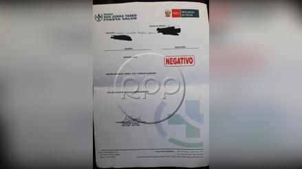 Mafia vende pruebas falsas de la COVID-19 con resultado negativo para poder realizar viajes interprovinciales [VIDEO]