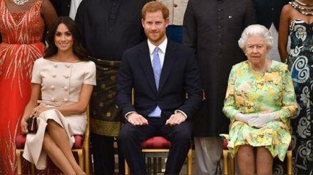 Meghan Markle y el príncipe Harry: Reina Isabel II califica de