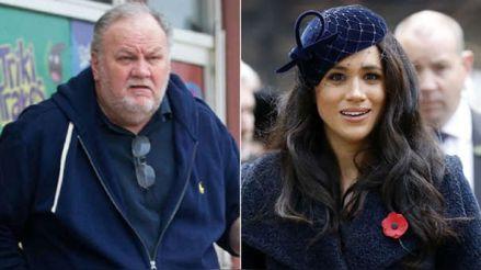 No conoce a ningún miembro de la familia real, pero el padre de Meghan Markle pone en duda acusaciones de racismo