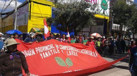 Cusco: Productores cocaleros acatan paro indefinido en rechazo a ENACO
