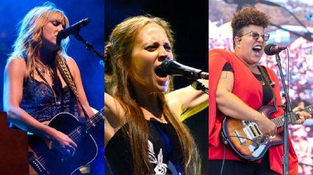 Marginadas durante mucho tiempo en los Grammy, las rockeras reclaman su sitio
