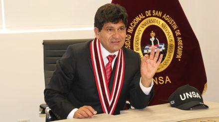 Arequipa: Fiscalía anticorrupción abre investigación al rector de la UNSA por presunto cobro ilegal de bonos