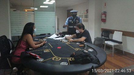 Miraflores: autoridades intervinieron una casa de juegos clandestina