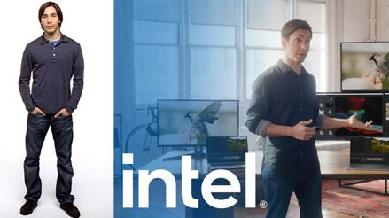 Intel ficha al actor que se burlaba de las PCs con Windows para atacar a Apple
