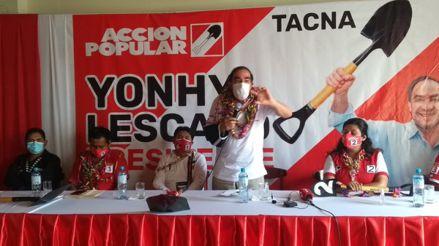 Yonhy Lescano: