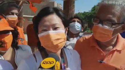 Chiclayo: Sachi Fujimori dijo que le encantaría que Kenji se sume a la campaña de Keiko