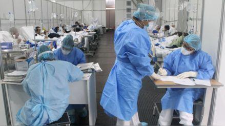 Minsa: Aumentan en 283 las hospitalizaciones por la COVID-19 en el último día
