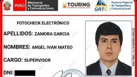 Cajamarca: Ingeniero denuncia que usan su nombre para estafar y entregar licencias de conducir