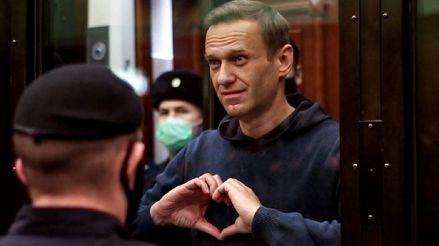 Opositor ruso encarcelado Alexéi Navalni anuncia huelga de hambre: