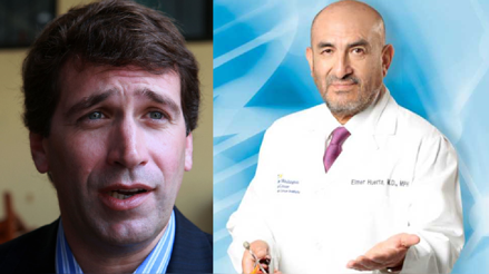 El doctor Elmer Huerta conversó con Rafael Santos sobre la pandemia de la COVID-19
