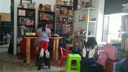 Cercado de Lima: Jóvenes implementan biblioteca comunitaria para niños en estado de vulnerabilidad