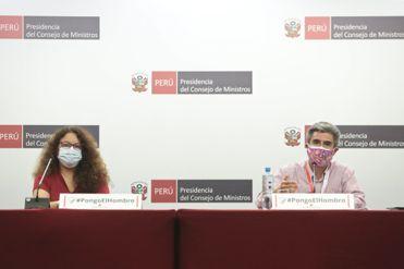EN VIVO | Ministros brindan una conferencia de prensa para informar las acciones del Ejecutivo frente a la pandemia