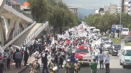 Cusco: Suspenden pasacalle de Verónika Mendoza por aglomeraciones