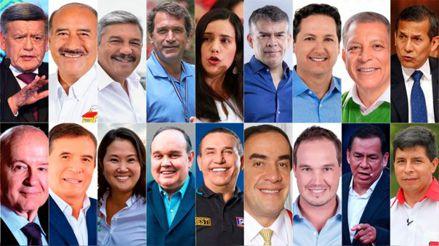 Elecciones 2021: Candidatos a la presidencia realizan últimas actividades de cierre de campaña