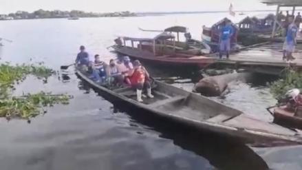 Elecciones 2021: Así cruzan el río Amazonas los votante, para sufragar en Iquitos [VIDEO]