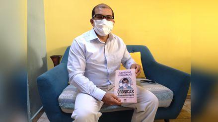 Piura: Nehemías Fernández, el enfermero que enfrentó la COVID-19, se contagió y hoy publica un libro con sus vivencias
